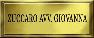 GIOVANNA AVV. ZUCCARO - LOGO