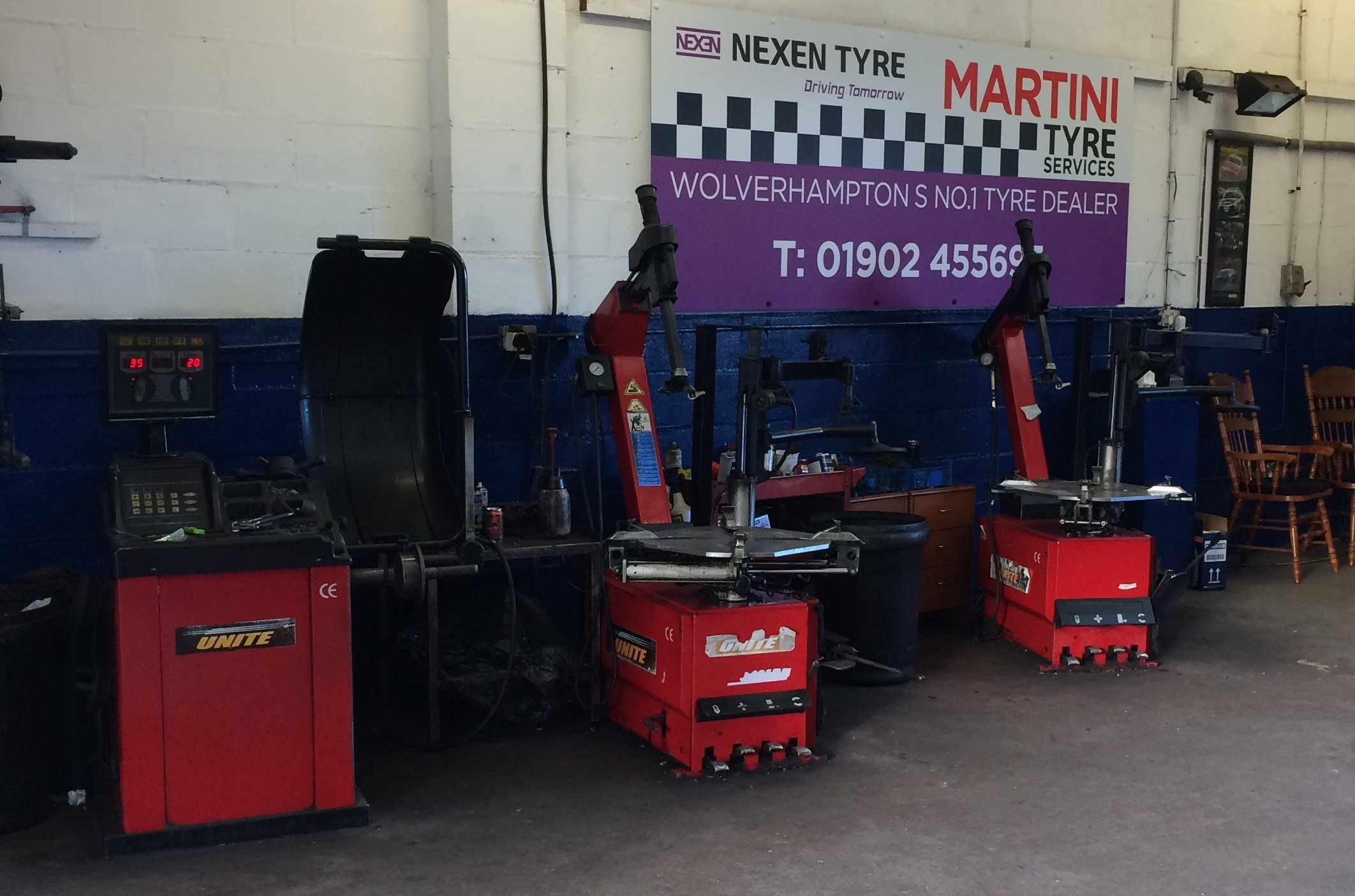 advanced equipment for tyre repair