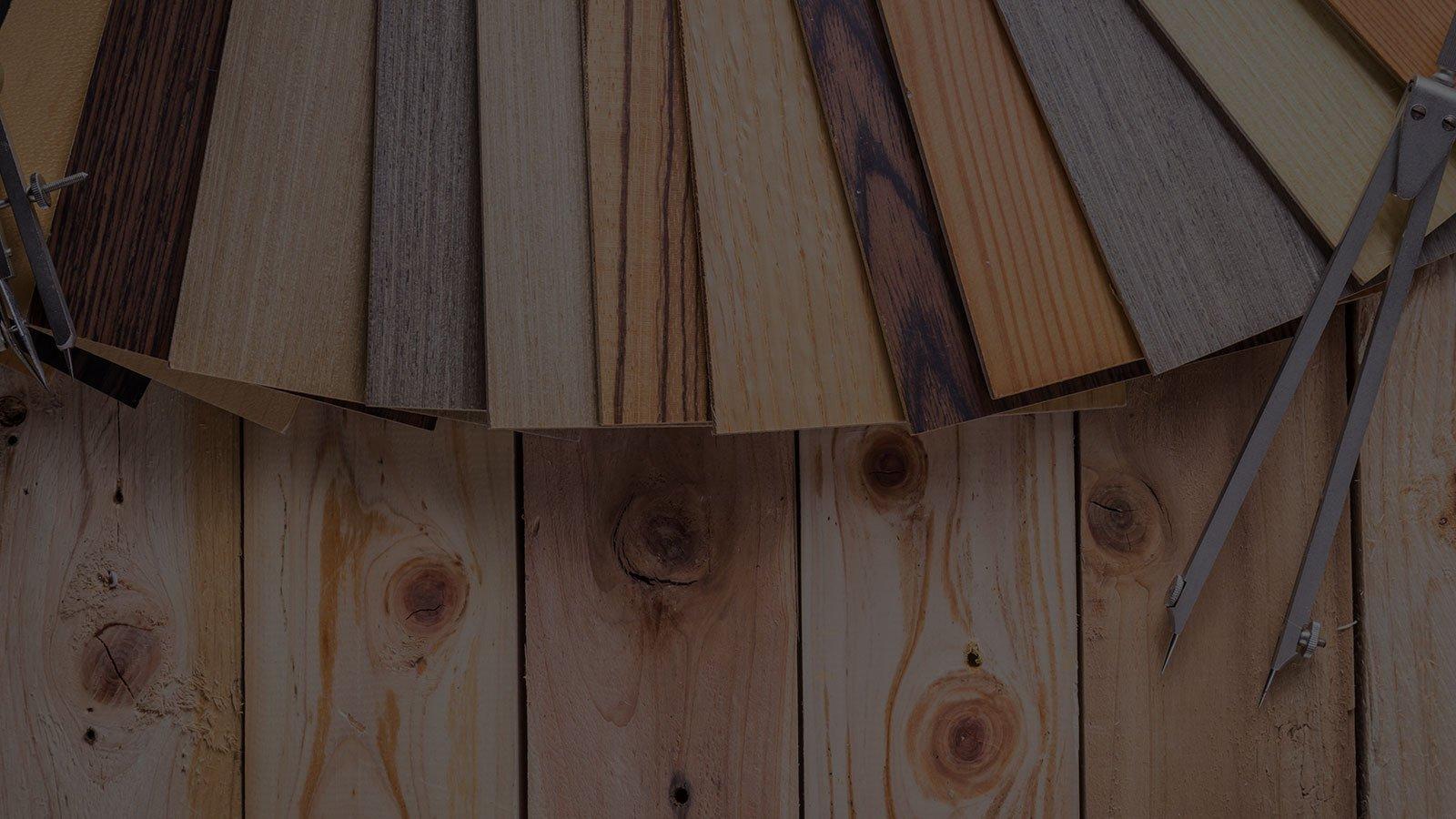 pannelli colorati in legno