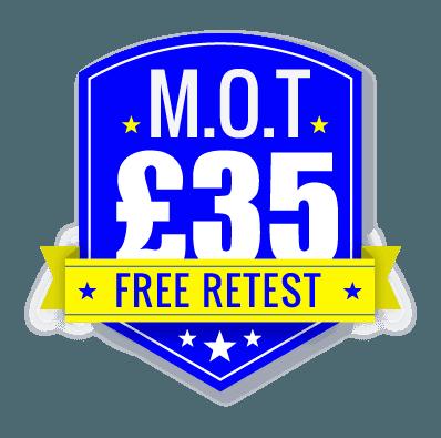 MOT test offer
