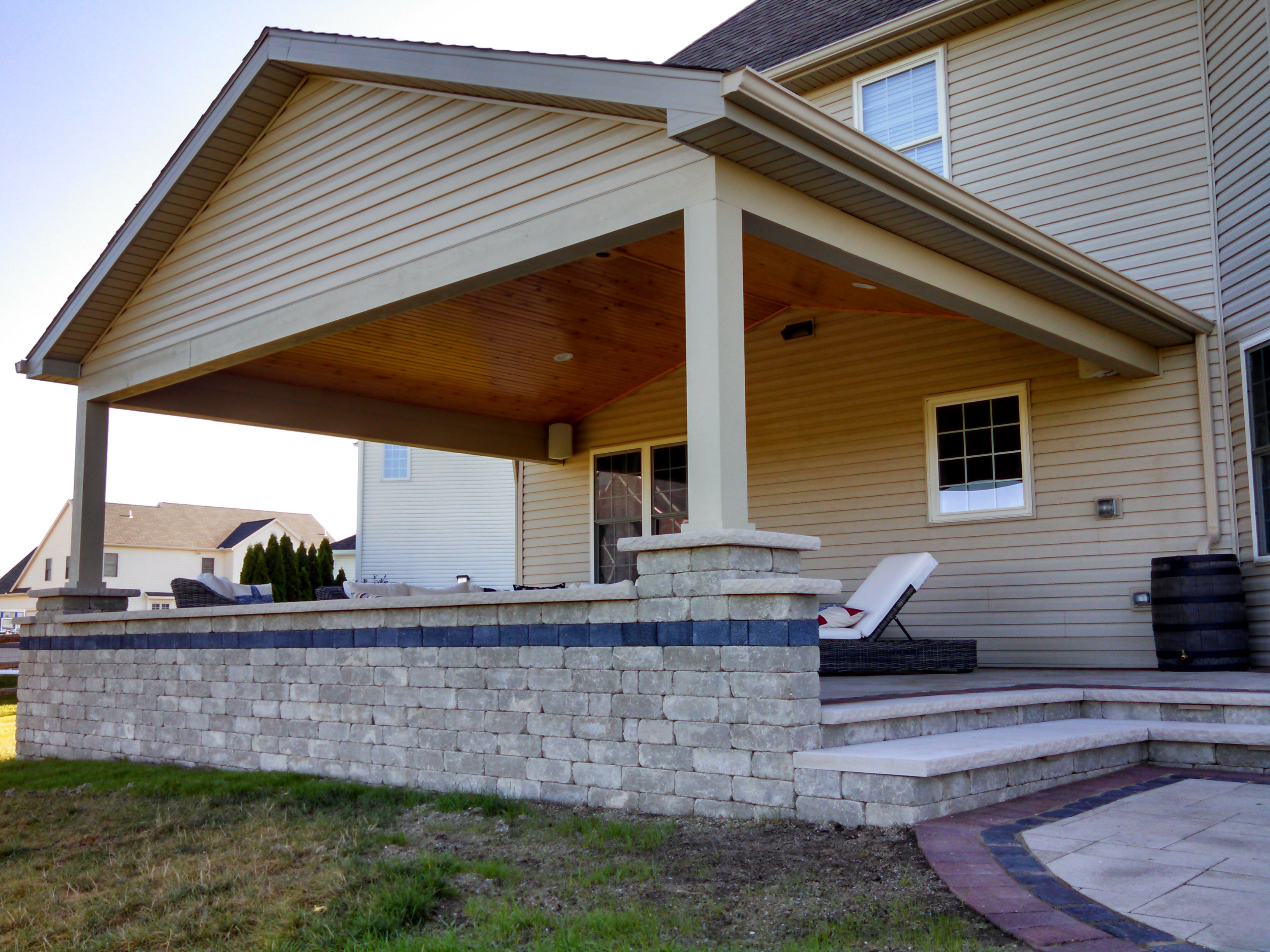 Outdoor Patio Addition - NorthPoint Remodeling