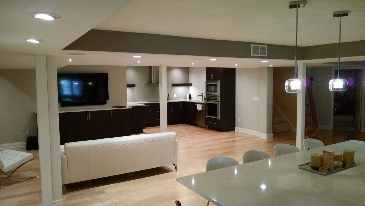 After Basement Remodel - NorthPoint Remodeling