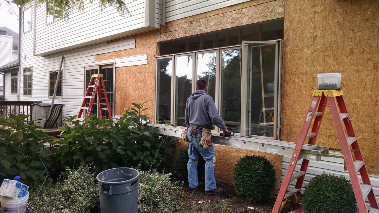 Old Window Removal - NorthPoint Remodeling