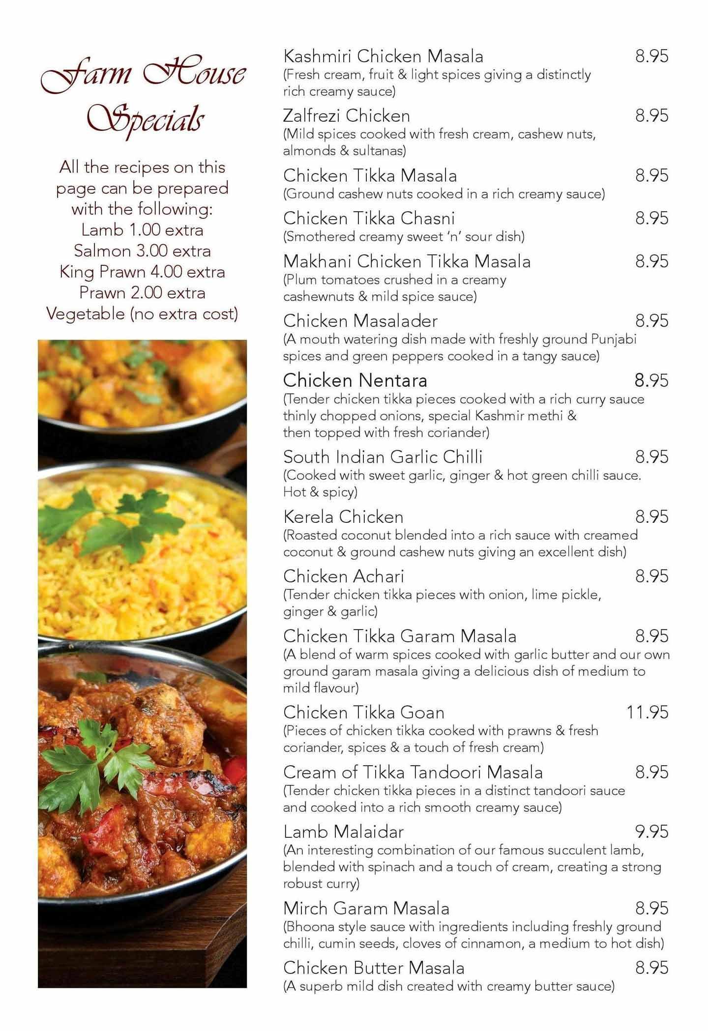 Indian cuisine cumbernauld dalshannon farm download pdf menu forumfinder Images