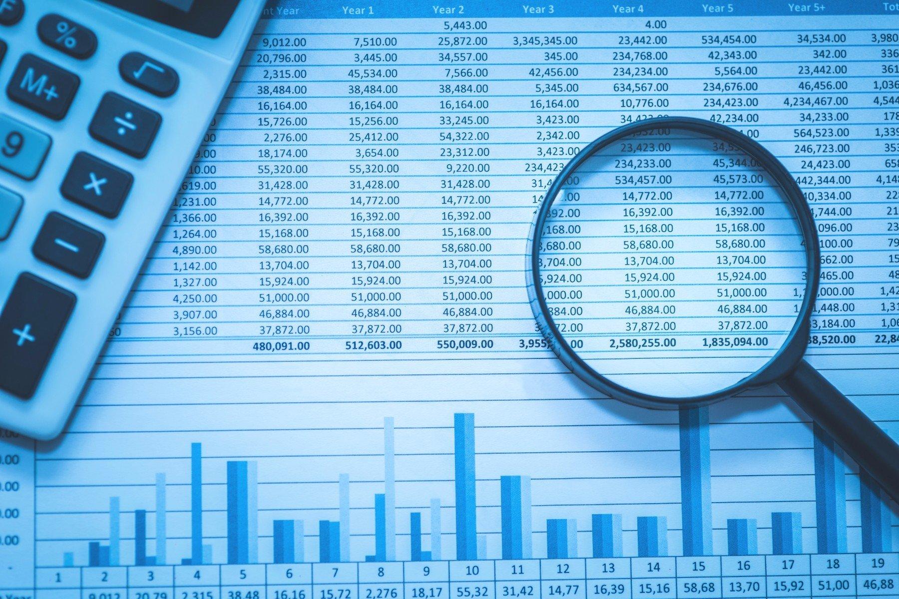 analisi dettagliata tabella risultati annuali