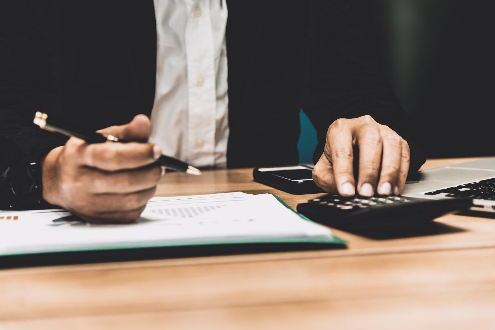 calcolatrice per contabilità