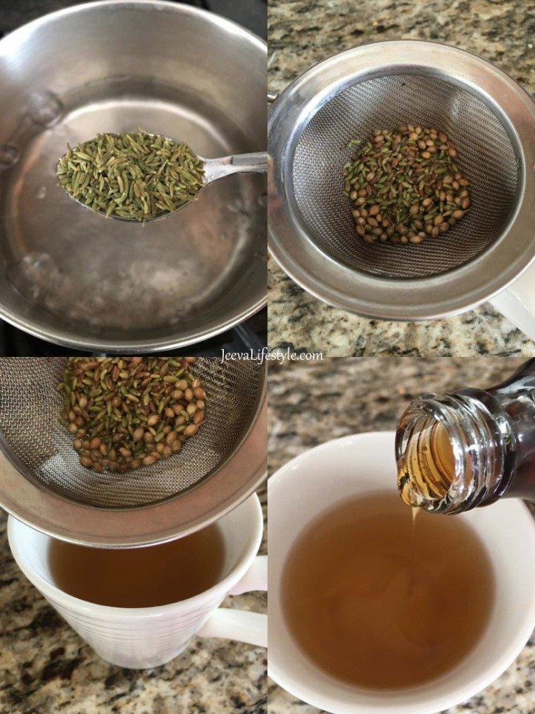 Ayurvedic Vata Tea (for Bloating, Constipation, Indigestion…)