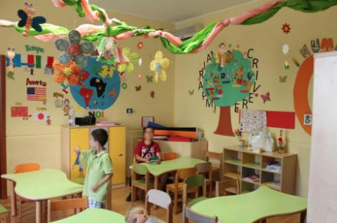 scuole dell'infanzia paritarie, nidi d'infanzia per bambini fino a 3 anni, organizzazione di feste per bambini
