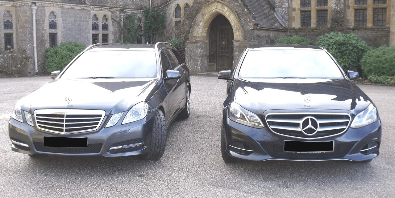 Black coloured cars