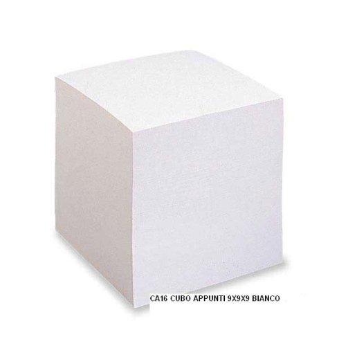 Cubo appunti bianco