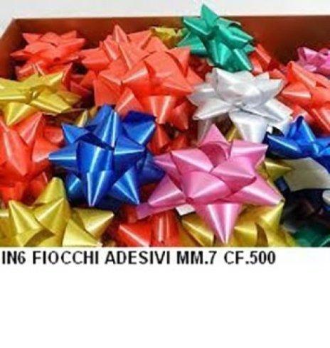 Fiocco colorato adesivo