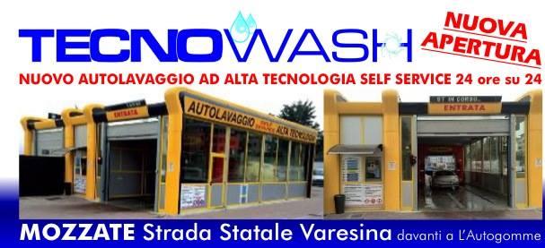 Promozione del negozio Tecno wash