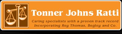 Tonner Johns Ratti logo