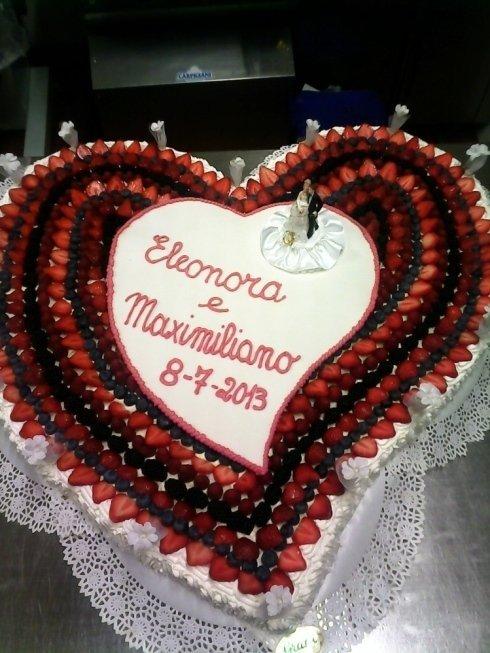 torta per matrimonio