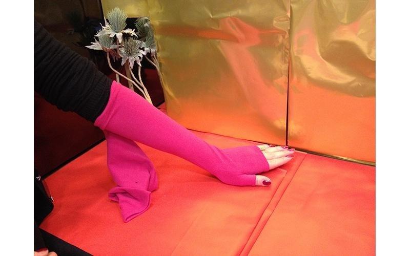 manicotto rosa