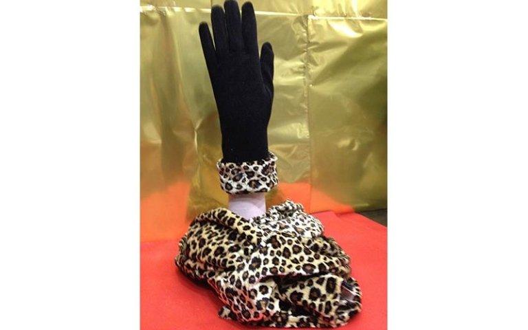 guanti leopardati