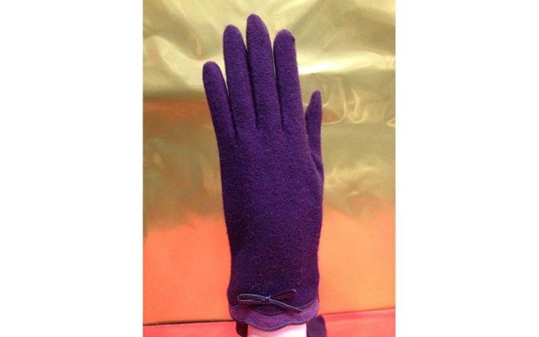 guanti viola milano