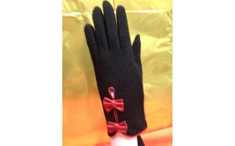 guanti con inserti donna