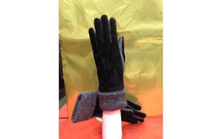 guanti con pelliccia