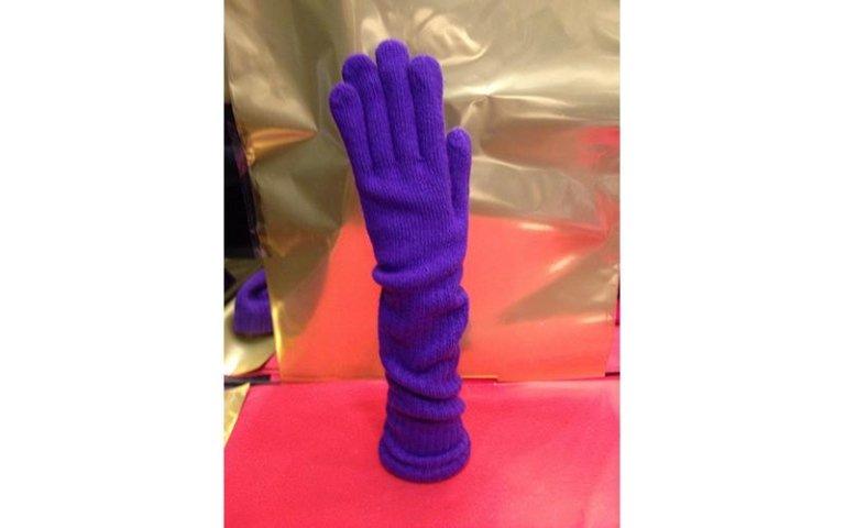 guanti blu elettrici