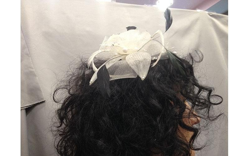 Fermagli per sposa e cerimonia milano de bernardi for Cappelli per matrimonio
