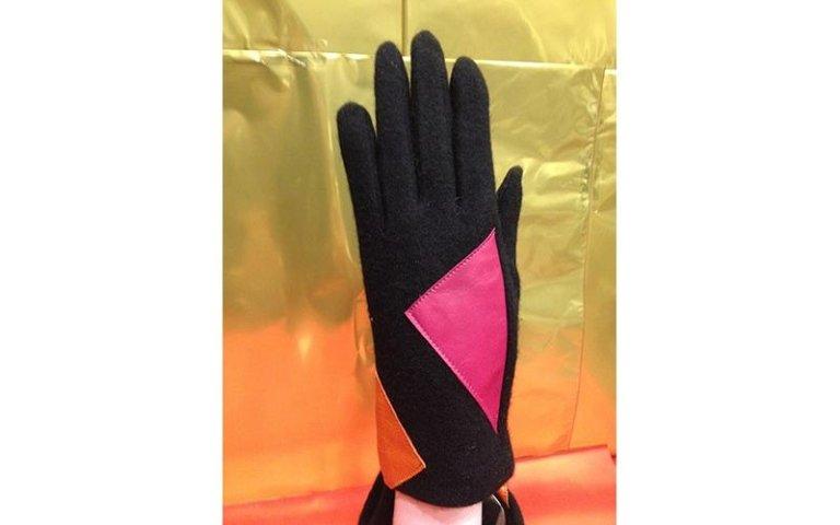 guanti con inserti