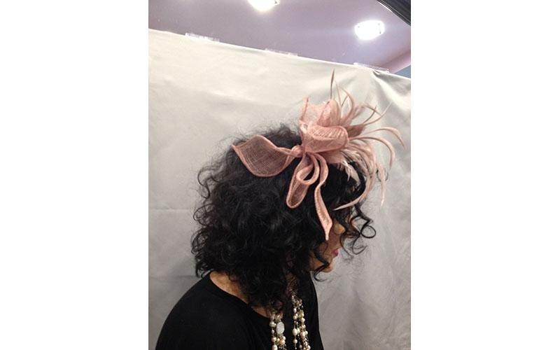 cappellino rosa antico