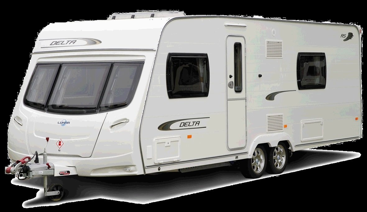 motorhome parked