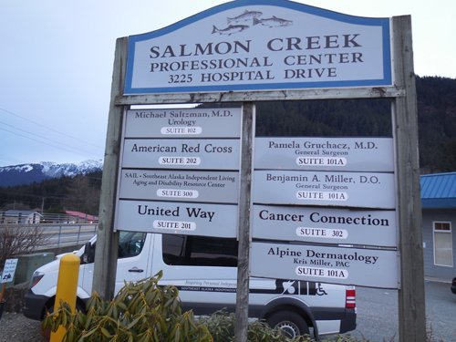 Exterior of the fantastic urology clinic in Juneau, AK