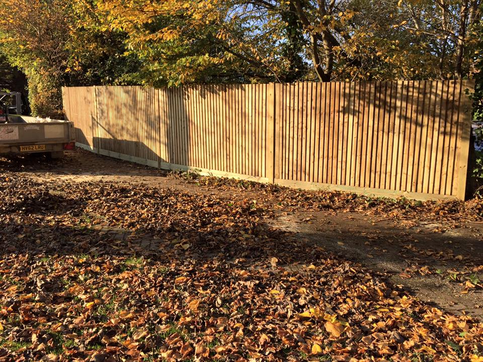 domestic fence installation