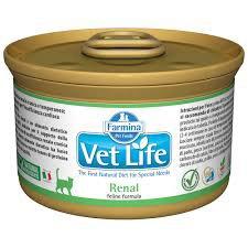 scatoletta di cibo per gatti Vet Life