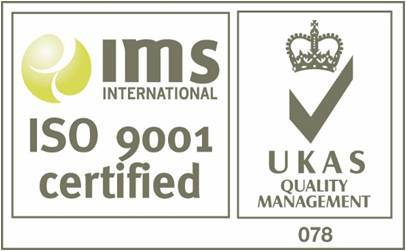 IMS iso 9001 Certified logo