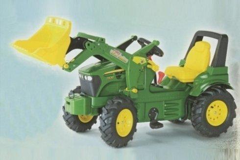 Spielzeug-Bulldozer