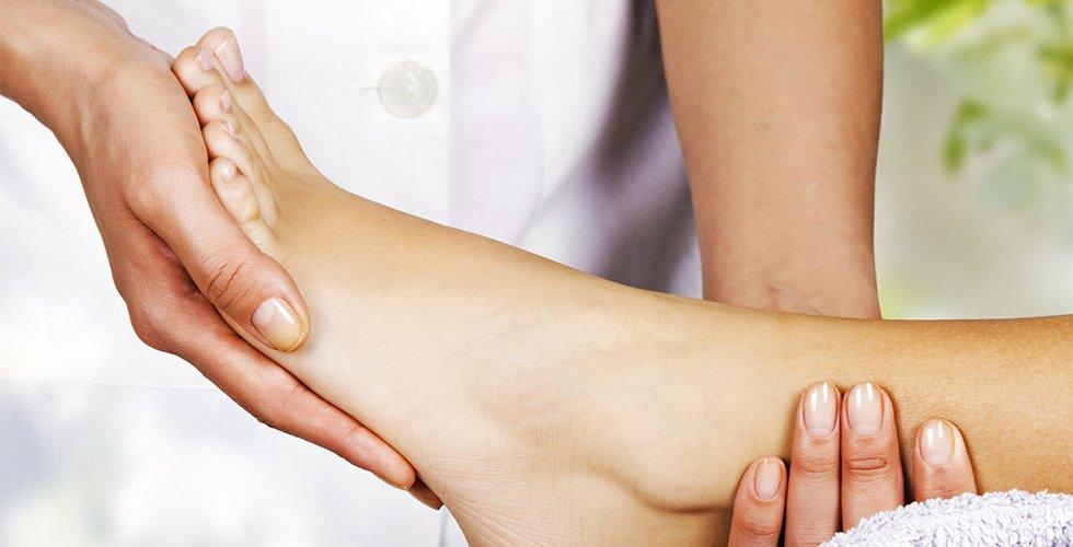 Professional podiatry treatments