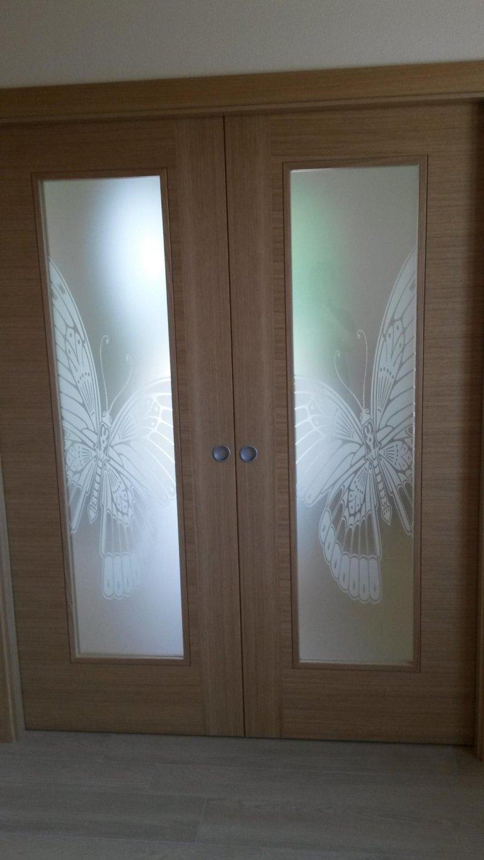 decorazioni su vetro