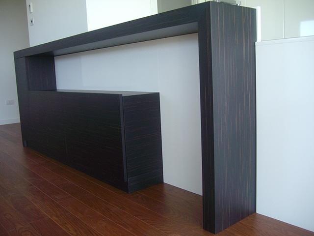 arredi interni di legno su misura