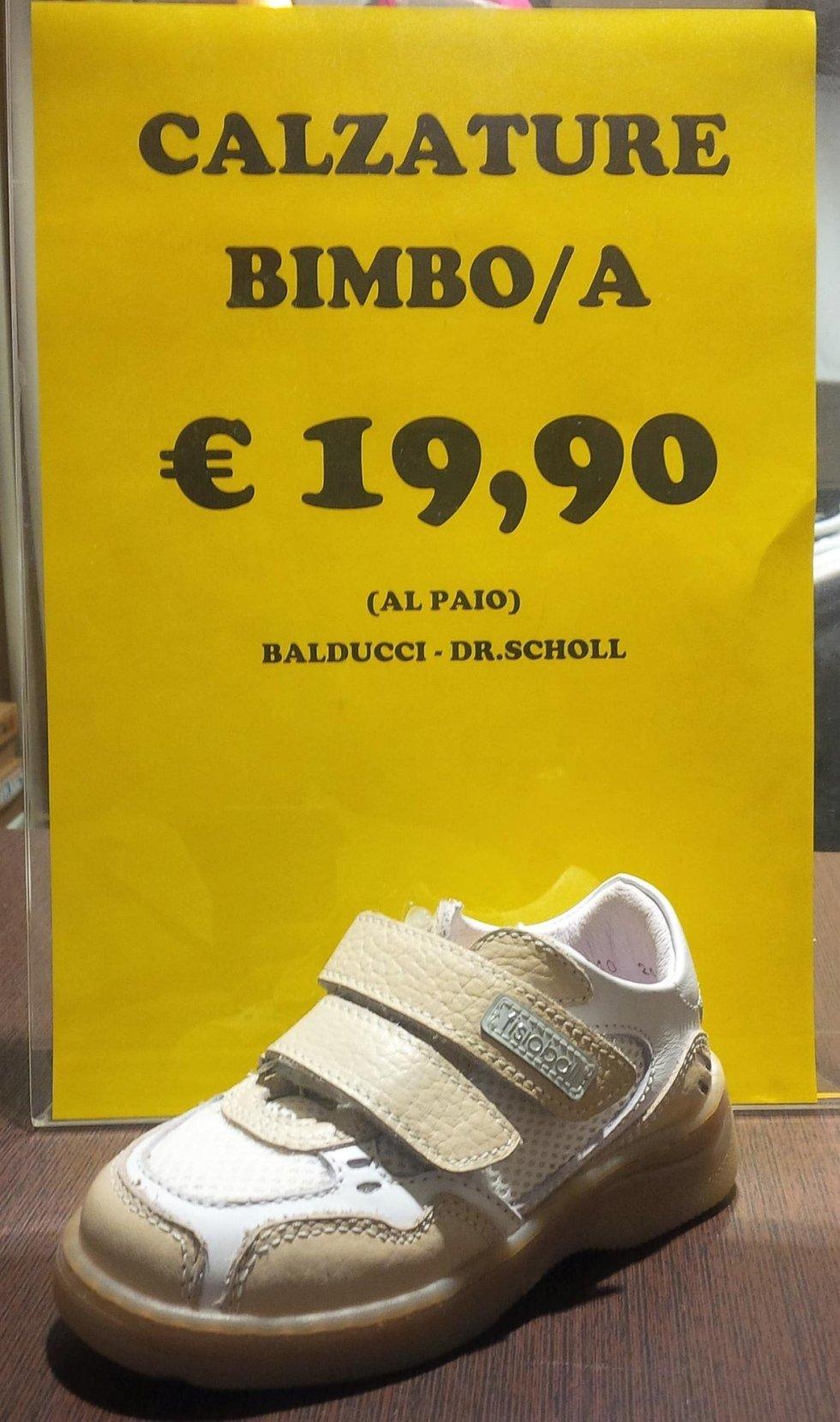 calzature bimbo/a