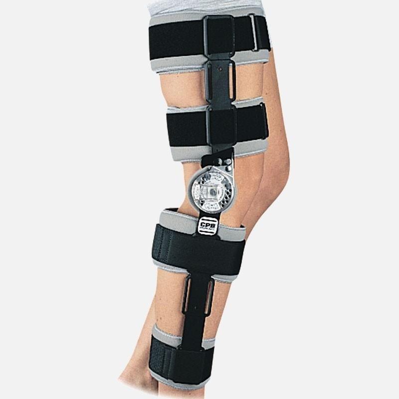 tutore gamba ginocchio