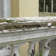 old  balustrade