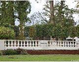 balustrade in a garden