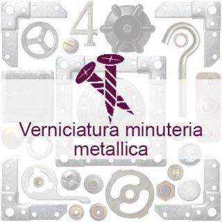 verniciatura minuteria metallica