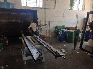 Lavorazione di verniciatura metalli