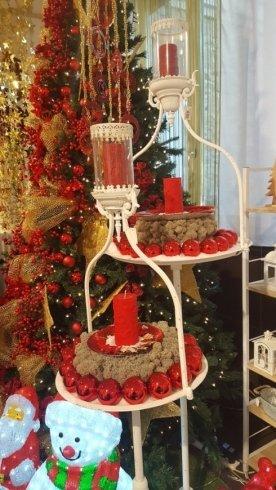 Porta candele natalizi