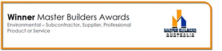 Master Builders Award