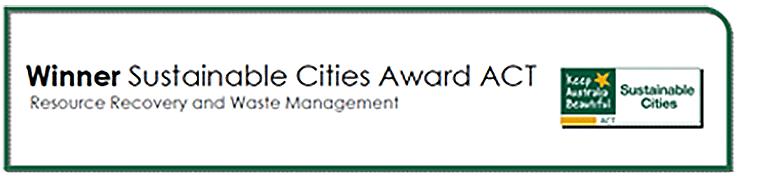 Sustainable Cities Award ACT