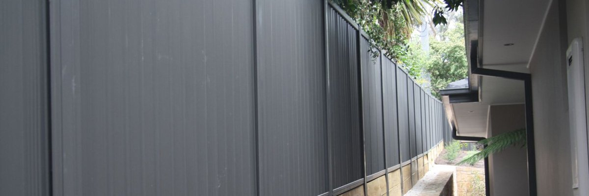 gmt fencing color bond fence