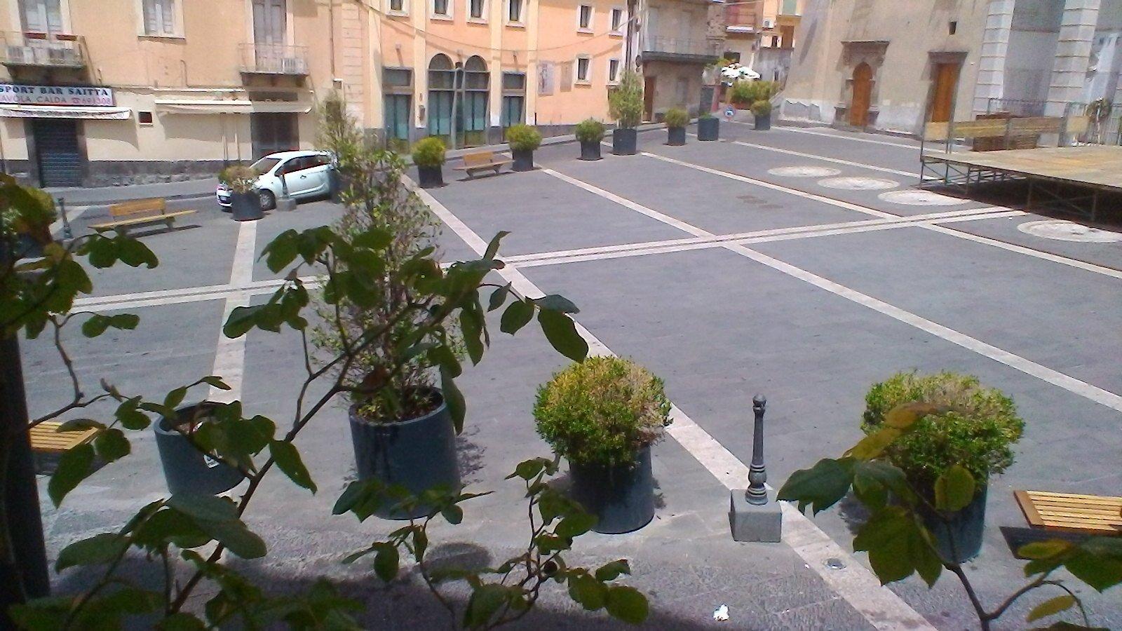 pavimenti di una piazza