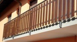 Balconi in alluminio