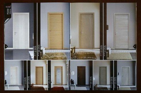 porte da interno nelle diverse tipologie di legno e colori