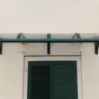 tettoia, tettoia in vetro, tettoia in alluminio, pontedera, pisa